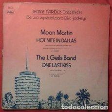 Discos de vinilo: TEMAS RÁPIDOS DISCOTECA: MOON MARTIN, J. GEILS BAND, THE , MINK DEVILLE, BOB SEGER, 12' CAPITOL 1979. Lote 161079206