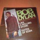 Discos de vinilo: BOB DYLAN. LIKE A ROLLING STONE. GATES OF EDEN. CBS 1966.. Lote 161081074