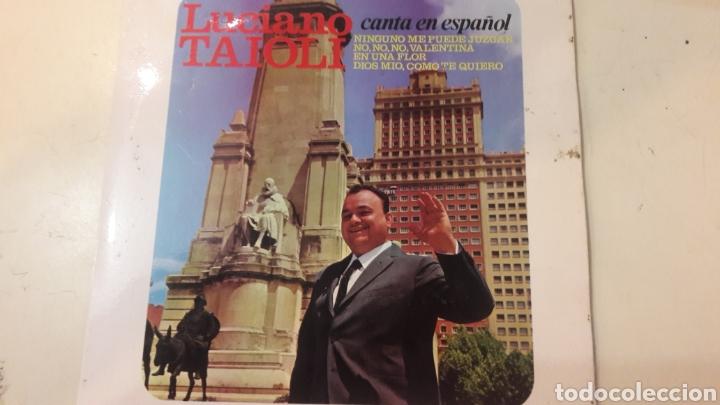 1966 LUCIANO TAIOLI CANTA ESPAÑOL DISCOPHAN 27484 (Música - Discos de Vinilo - Maxi Singles - Solistas Españoles de los 50 y 60)