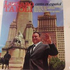 Discos de vinilo: 1966 LUCIANO TAIOLI CANTA ESPAÑOL DISCOPHAN 27484. Lote 161081820