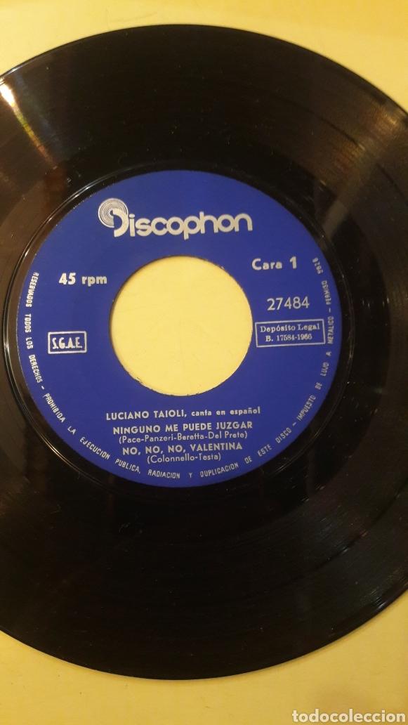 Discos de vinilo: 1966 Luciano Taioli canta Español discophan 27484 - Foto 2 - 161081820