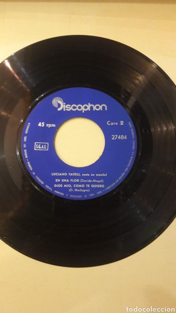 Discos de vinilo: 1966 Luciano Taioli canta Español discophan 27484 - Foto 3 - 161081820