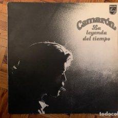 Discos de vinilo: CAMARÓN ?– LA LEYENDA DEL TIEMPO SELLO: PHILIPS ?– 63 28 255 FORMATO: VINYL, LP, ALBUM PAÍS: SPAIN. Lote 161082250