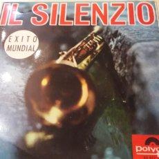 Discos de vinilo: POLYDOR I L SILENZIO ÉXITO MUNDIAL. Lote 161082716