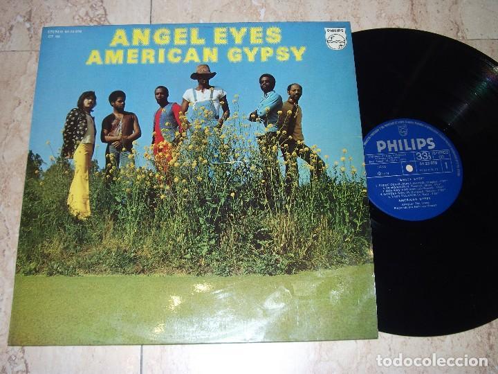 AMERICAN GYPSY -ANGEL EYES- LP 1975 FUNK*DISCO*BOOGIE-ESPAÑA PHILIPS-6423078- EXCELENTE (Música - Discos - LP Vinilo - Pop - Rock - Extranjero de los 70)