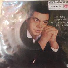 Discos de vinilo: 1961 MARIO LANZA. Lote 161083945
