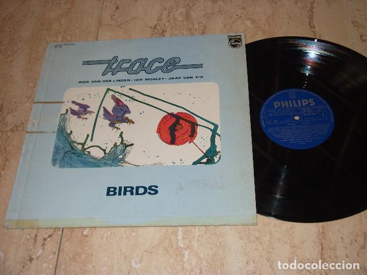 TRACE – BIRDS - LP - PHILIPS – 6423 091-ESPAÑA-1976- (Música - Discos - LP Vinilo - Pop - Rock - Extranjero de los 70)