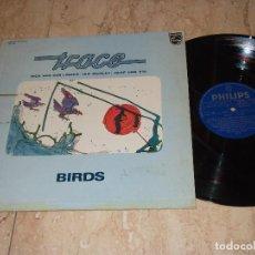 Discos de vinilo: TRACE ?– BIRDS - LP - PHILIPS ?– 6423 091-ESPAÑA-1976-. Lote 161084810