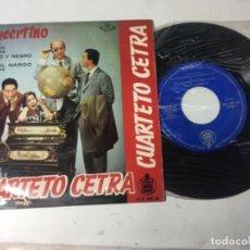 Discos de vinilo: ANTIGUO SINGLE EP ORIGINAL AÑOS 50/60 CUARTETO CETRA CONCERTINO. Lote 161086362