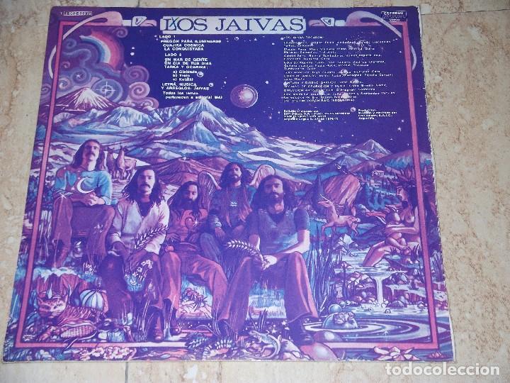 Discos de vinilo: Los Jaivas – Los Jaivas- LP -EMI – 1 J062-82.273-ESPAÑA-1975- PROMOCIONAL!! - Foto 2 - 161086378