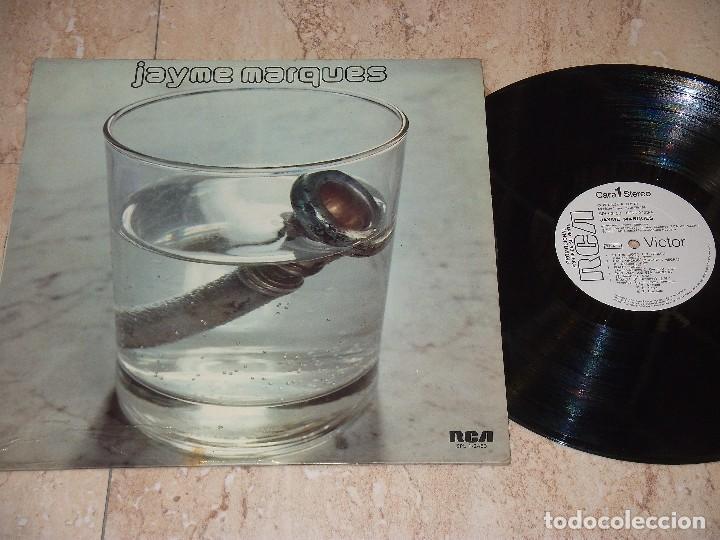 JAYME MARQUES – JAYME MARQUES-LP- RCA VICTOR – SPL1 - 2453-ESPAÑA-1973- PROMOCIONAL (Música - Discos - LP Vinilo - Pop - Rock - Extranjero de los 70)