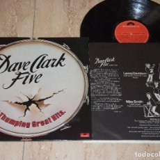 Discos de vinilo: THE DAVE CLARK FIVE ?– 25 THUMPING GREAT HITS -LP- POLYDOR ?– 23 83 492-ESPAÑA-1978-+INSERT. Lote 161087914