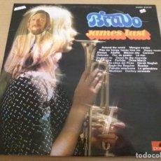 Discos de vinilo: JAMES LAST / BRAVO / LP (ERA DOBLE, PERO SOLO TIENE UN DISCO). Lote 161089310