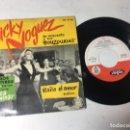 Discos de vinilo: ANTIGUO SINGLE EP ORIGINAL AÑOS 50/60 JACKY NOGUEZ. Lote 161089786