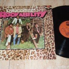 Discos de vinilo: CRAZY CAVAN AND THE RHYTHM ROCKERS –ROCKABILITY-LP-ORIGINAL 1ª EDICION-ESPAÑA-1978-CHARLY RECORDS . Lote 161092554