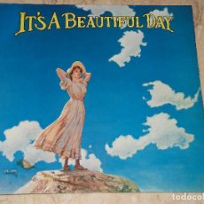 Discos de vinilo: IT'S A BEAUTIFUL DAY – IT'S A BEAUTIFUL DAY-LP-CBS – S-63722-ESPAÑA-1970-GATEFOLD COVER-. Lote 161093014