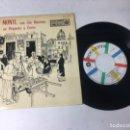 Discos de vinilo: ANTIGUO SINGLE EP ORIGINAL AÑOS 50/60 LOU MONTE. Lote 161093034