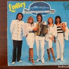 Discos de vinilo: DSCHINGHIS KHAN ?– LORELEY SELLO: JUPITER RECORDS FORMATO: VINYL, 7 , 45 RPM, SINGLE PAÍS: ESPAÑA. Lote 161094734
