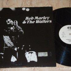 Discos de vinilo: BOB MARLEY & THE WAILERS – WAR / NO MORE TROUBLE / EXODUS-MAXI- ISLAND RECORDS – 0106-ESPAÑA-PROMO. Lote 161095850