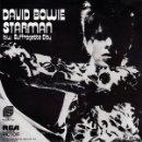 Discos de vinilo: DAVID BOWIE SINGLE STARMAN VINILO COLOR AZUL (REPRO DEL ORIGINAL USA) MUY RARO. Lote 64992431