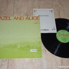 Discos de vinilo: HAZEL DICKENS AND ALICE GERRARD ?– HAZEL AND ALICE-LP-GUIMBARDA ?– GS11043-1979-CONTIENE LIBRETO. Lote 161096946