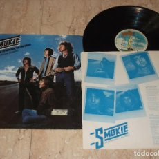 Discos de vinilo: SMOKIE ?– THE OTHER SIDE OF THE ROAD-LP-RAK ?– 10C 066-063.337-ESPAÑA-1979-PROMOCIONAL. Lote 161097274