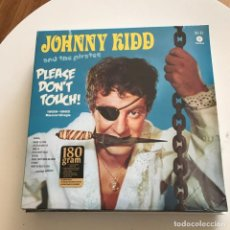 Discos de vinilo: JOHNNY KIDD & THE PIRATES - PLEASE DON'T TOUCH (1959-1962 RECORDINGS) - LP WAXTIME 2017 NUEVO. Lote 161102286