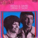 Discos de vinilo: HEDVA AND DAVID - I DREAM OF NAOMI + CAN WE GO ON SINGLE PROMO SPAIN 1971. Lote 161118958
