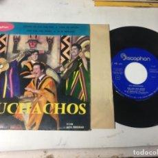 Discos de vinilo: ANTIGUO SINGLE EP ORIGINAL AÑOS 50/60 LOS MUCHACHOS. Lote 161118978