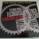 Discos de vinilo: TECHNO NOISE ATTACK / RECOPILATORIO IMPORT TEMAZOS RUTA DESTROY VALENCIA. Lote 161127026