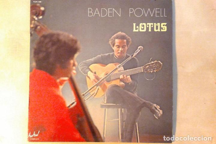 BADEN POWELL -LOTUS- LP DISQUES FESTIVAL FRANCE (Música - Discos de Vinilo - Maxi Singles - Cantautores Extranjeros)