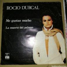 Discos de vinilo: ROCÍO DURCAL - ME GUSTAS MUCHO. Lote 161137457