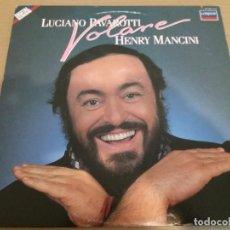 Discos de vinilo: LUCIANO PAVAROTTI - HENRY MANCINI / VOLARE / LP MADE IN USA. Lote 161138246