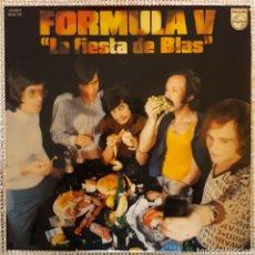Discos de vinilo: FORMULA V - LA FIESTA DE BLAS. Lote 161140932