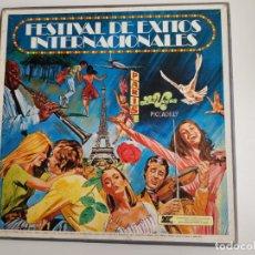 Discos de vinilo: VARIOS - FESTIVALES DE ÉXITOS INTERNACIONALES (VINILOS). Lote 161143150