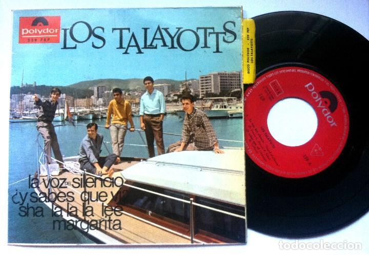 LOS TALAYOTTS - SHA LA LA LA LEE - EP 1966 - POLYDOR (Música - Discos de Vinilo - EPs - Grupos Españoles 50 y 60)