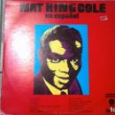 Discos de vinilo: NAT KING COLE -EN ESPAÑOL- LP 1973 CAPITOL SPAIN. Lote 161159614