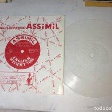 Discos de vinilo: ANTIGUO SINGLE EP ORIGINAL AÑOS 50/60 RARO DISCO FLEXIBLE DISCO OBSEQUIO ASSIMIL. Lote 161159778