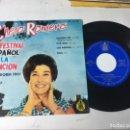 Discos de vinilo: ANTIGUO SINGLE EP ORIGINAL AÑOS 50/60 CHELO ROMERO FESTIVAL DE LA CANCIÓN DE BENIDORM 1961. Lote 161166390