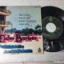 Discos de vinilo: ANTIGUO SINGLE EP ORIGINAL AÑOS 50/60 FESTIVAL DE LA CANCIÓN DE BENIDORM 19611 ELDER BARBER. Lote 161166558
