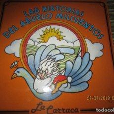 Discos de vinilo: LA CARRACA - LAS HISTORIAS DEL ABUELO MILCUENTOS LP - ORIGINAL ESPAÑOL - SAGA 1985 CON ENCARTE . Lote 161172018