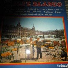 Discos de vinilo: PEPE BLANCO - PEPE BLANCO LP - ORIGINAL ESPAÑOL - EMI REGAL RECORDS 1969 SERIE AZUL. Lote 161173174