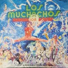 Discos de vinilo: LOS MUCHACHOS EN DIRECTO DESDE EL MADISON SQUARE GARDEN LP SELLO BELTER AÑO 1977. Lote 161177353
