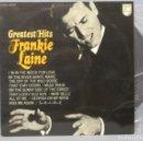 Discos de vinilo: LP. FRANKIE LAINE. GREATEST HITS. Lote 161196602