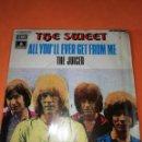 Discos de vinilo: THE SWEET - ALL YOU´LL EVER GET FROM ME / THE JUICER (45 RPM) EMI 1971 - RARO- BUEN ESTADO. Lote 161206030