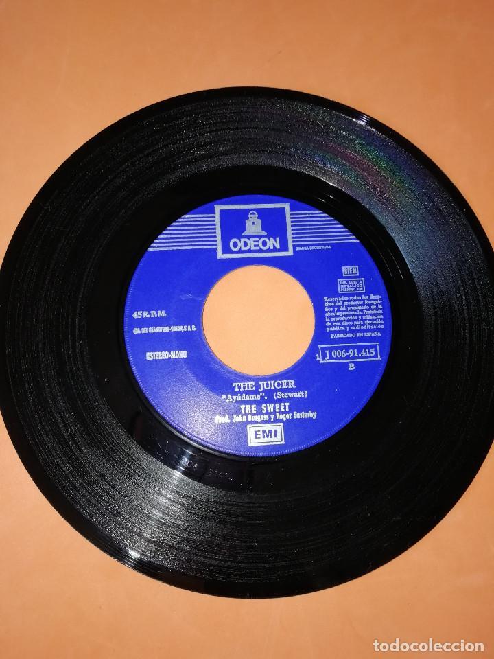 Discos de vinilo: THE SWEET - ALL YOU´LL EVER GET FROM ME / THE JUICER (45 RPM) EMI 1971 - RARO- BUEN ESTADO - Foto 5 - 161206030