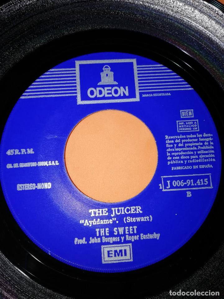 Discos de vinilo: THE SWEET - ALL YOU´LL EVER GET FROM ME / THE JUICER (45 RPM) EMI 1971 - RARO- BUEN ESTADO - Foto 6 - 161206030