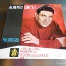 Discos de vinilo: ALBERTO CORTEZ - MR. SUCU - SUCU -, EP, LA SEÑAL DE LA CRUZ + 3, AÑO 1963. Lote 161226190