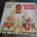 Discos de vinilo: ANTONIO MACHIN, EP, TENGO UNA DEBILIDAD + ESPERANZA + 2, AÑO 1961. Lote 161228746