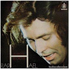 Discos de vinilo: RAPHAEL, EL DISCO DE ORO LP HISPAVOX 1973 . Lote 161232942